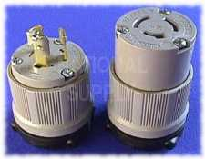 20 Amp 3 Wire Cooper Plugs