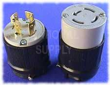 20 Amp 4 Wire Cooper Plugs